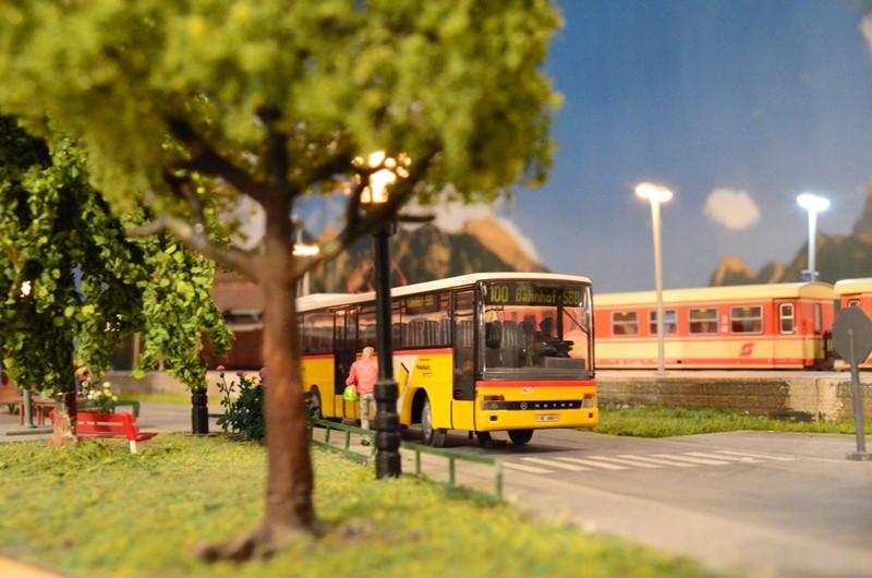 Buss og tog